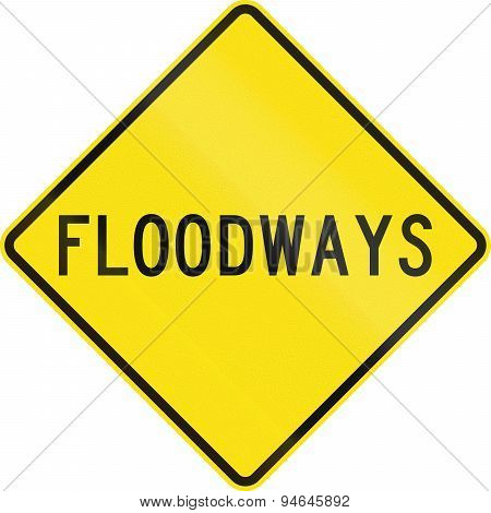 Floodways In Australia