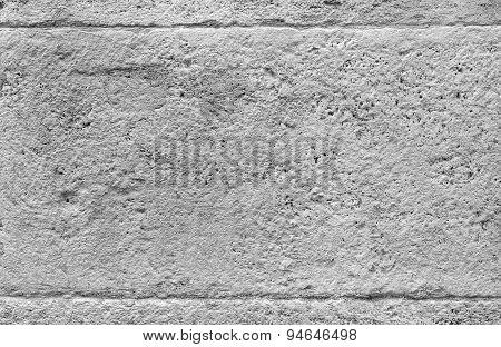 Gray concrete wall.