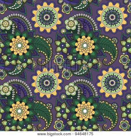 Beautiful floral traditional ornament