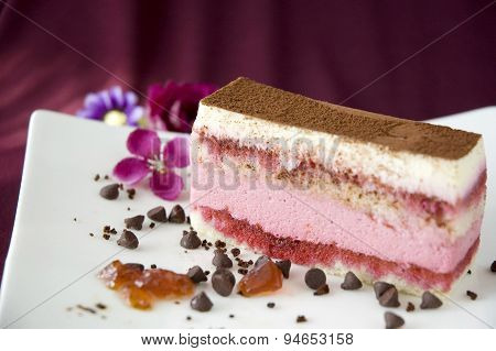 Close Up Layer Cake