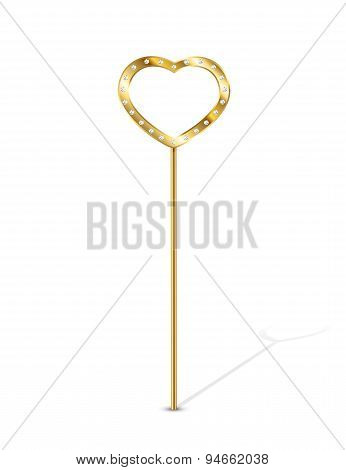 Magic Wand With Heart