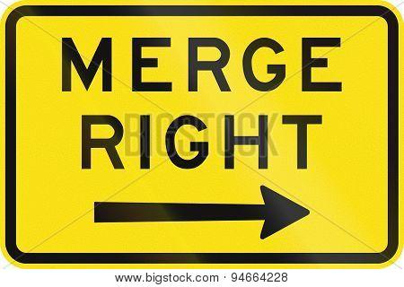 Merge Right In Australia