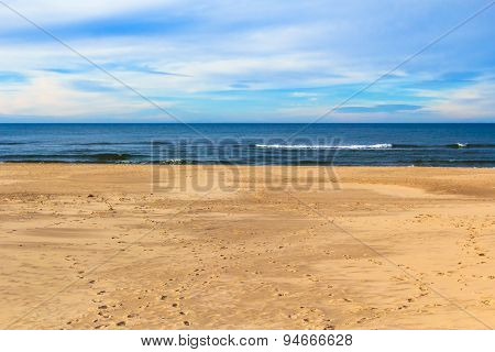 Image Baltic Sea Spring Time