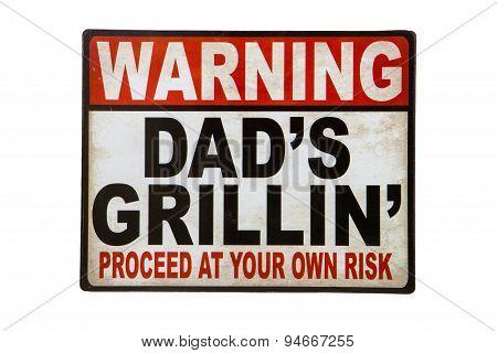 Dad's Grillin'