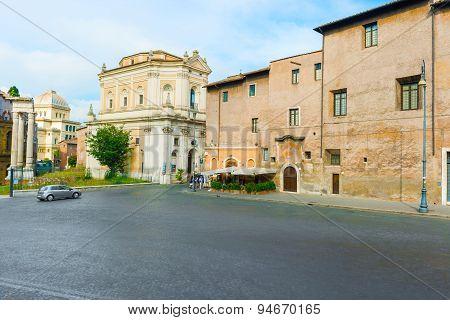 Church Of Santa Rita Da Cascia In Rome
