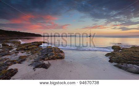 Jervis Bay At Dusk