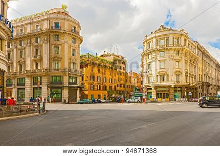 Buildings In Rome, Italy
