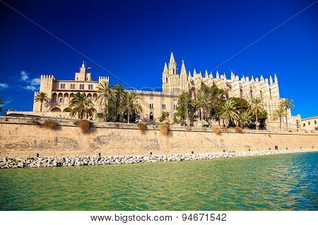 Palma Cathedral And The Almudaina Palace