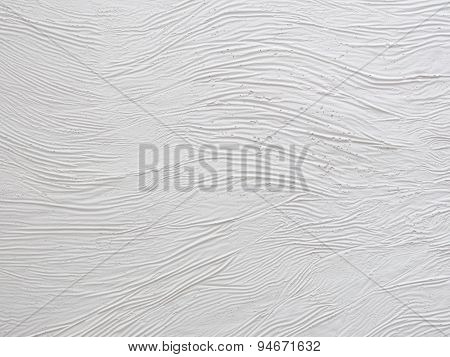 Textured Wall With Plaster