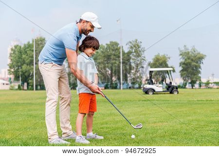 Sharing With Golf Experience.