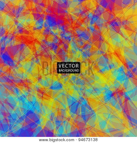 bright colorful abstract background. vector illustration eps10