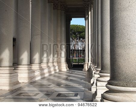 Columns of the Basilica of San Paolo