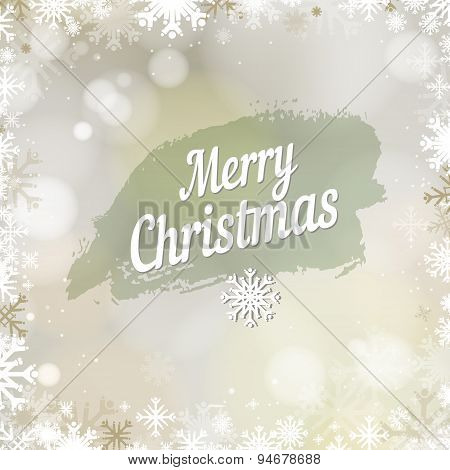 Abstract Holiday Christmas Golden Light Background