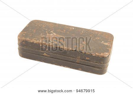 Antique Rusty Metal Box