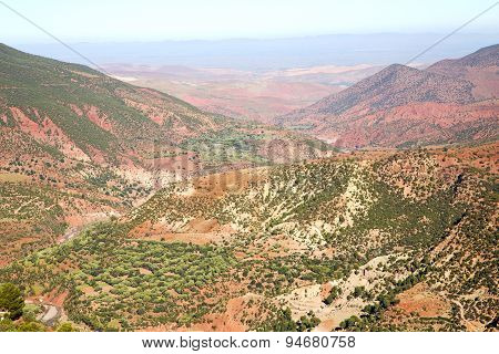 The Dades Valley In Atlas