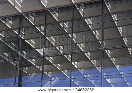 building facade - glass reflection