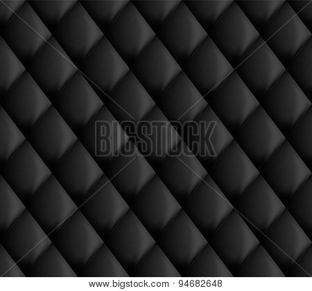 black upholstery background
