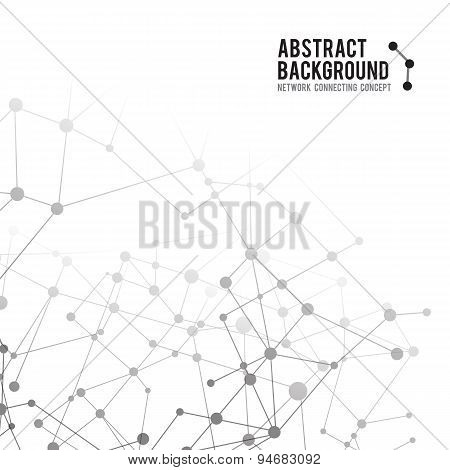 Abstract Background Network Connect Concept - Vector Illustration 002