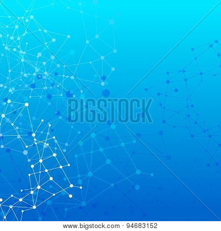 Abstract Background Network Connect Concept - Vector Illustration 007