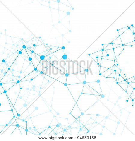 Abstract Background Network Connect Concept - Vector Illustration 008