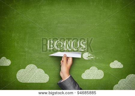 Bonus word on blackboard