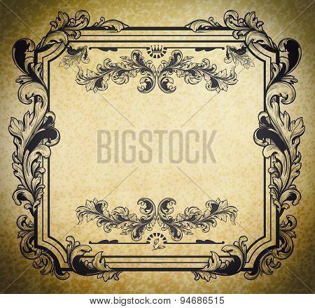 Vintage Decorative Frame.