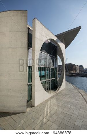 Bundeskanzleramt, Bundestag, Berlin, Government building