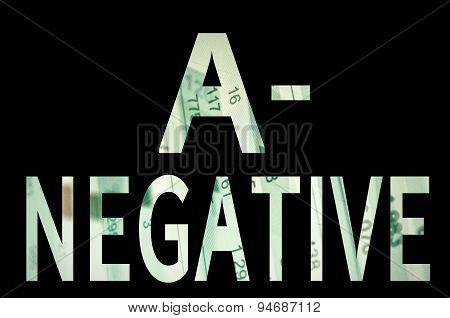 A- negative