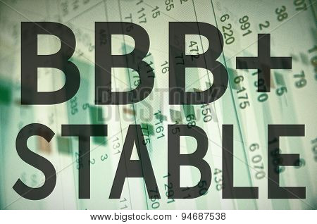 BBB+ Stable
