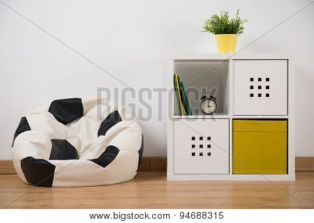 Simple Room With Furniture