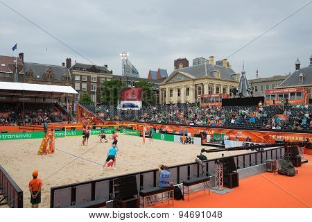 Beach Volleyball World Championships 2015 In The Hague