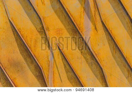 Metallic Structure Yellow