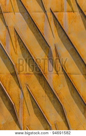 Yellow Rusty Structure