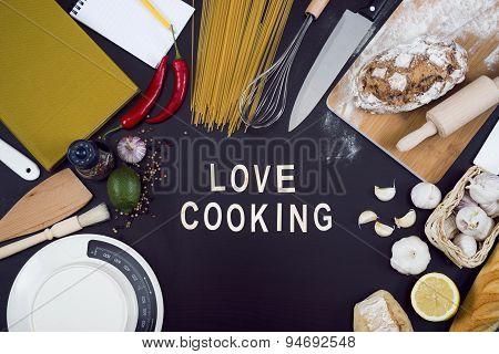 Love cooking hero header