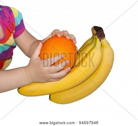 Fruits And Hands