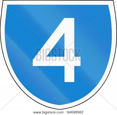 Australian State Route Shield 4