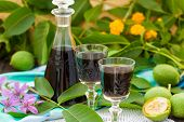 pic of home remedy  - Liqueur from young green walnuts - JPG