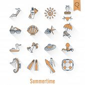 pic of sailfish  - Summer and Beach Simple Flat Icons - JPG