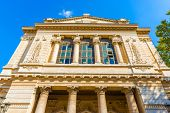 pic of synagogue  - Synagogue in Rome was inaugurated in 1904 and is centrally planned structure covered by a great dome - JPG