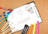 picture of driving school  - Still life children school education concept - JPG