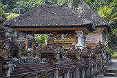 stock photo of hindu  - Holy Spring Water Tirta Empul Hindu Temple  - JPG