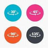 stock photo of math  - Circle buttons - JPG