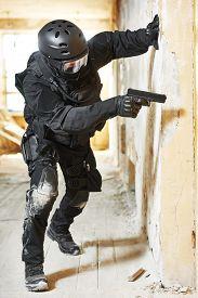 image of terrorist  - Military industry - JPG