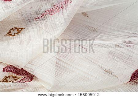Texture, Background. Tulle, Bobbin-net, Bobbin, Illusion. A Soft, Fine Silk,