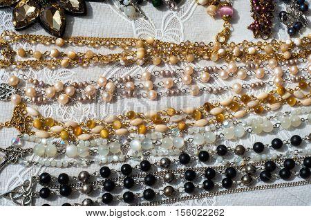 bead chaplet beading.l, beautiful, luxury, decking, knick-knack