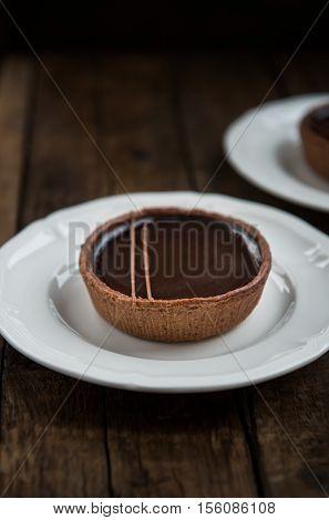 Handmade Rich Chocolate Tartlets