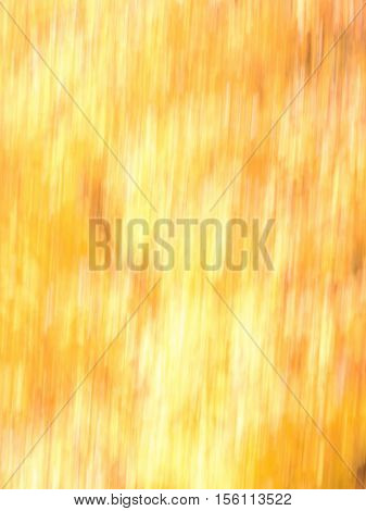 Blur of natural leaf colors in the Fall with mostly bright yellow and a bit of orange and red. Suitable for background or abstract.