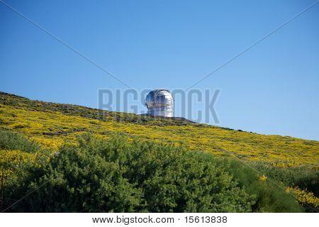 Observatory  Of Roque De Los Muchachos