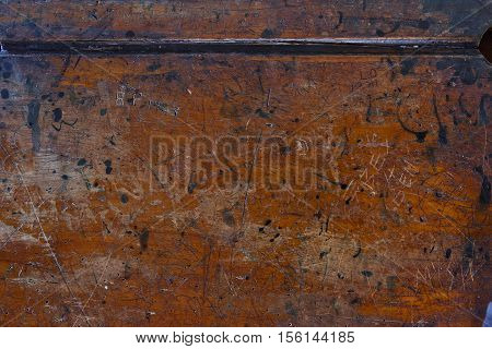 Rough textured old blank wooden photo background