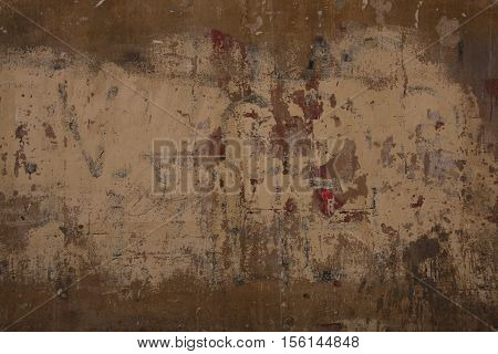 Rough textured blank grunge concrete photo background